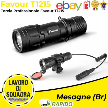 Torcia Led Favour TRACER...