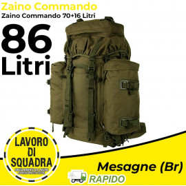 Zaino Tattico Commando 70 +...
