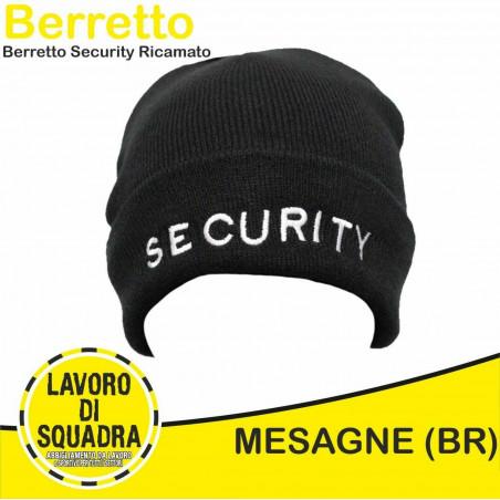 Berretto SECURITY Ricamato...