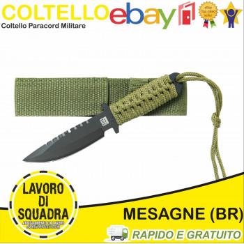 Coltello Militare Paracord...