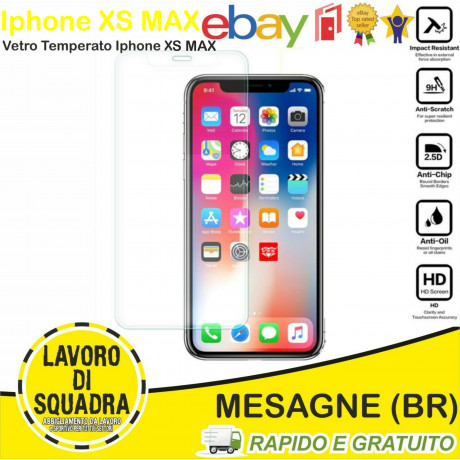Vetro Temperato Iphone XS MAX