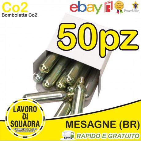 50 Bombolette Co2 12g