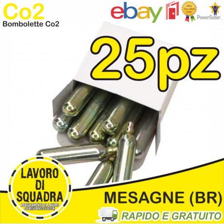 25 Bombolette Co2 12g