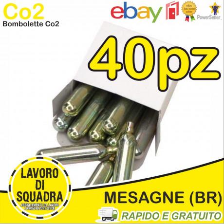 40 Bombolette Co2 12g