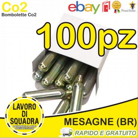 100 Bombolette Co2 12g