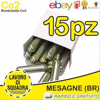 15 Bombolette Co2 12g