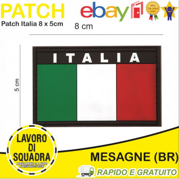 Patch Toppa PVC Bandiera...