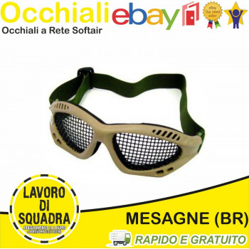 OCCHIALI SOFTAIR STEEL MESH...
