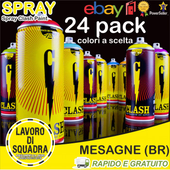 CLASH PAINT 24 PACK Colori...