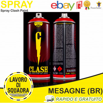 1 Spray CLASH PAINT Colore...