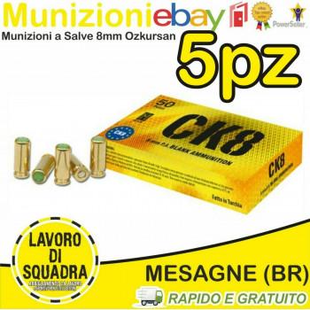 250 MUNIZIONI 8MM CK8...