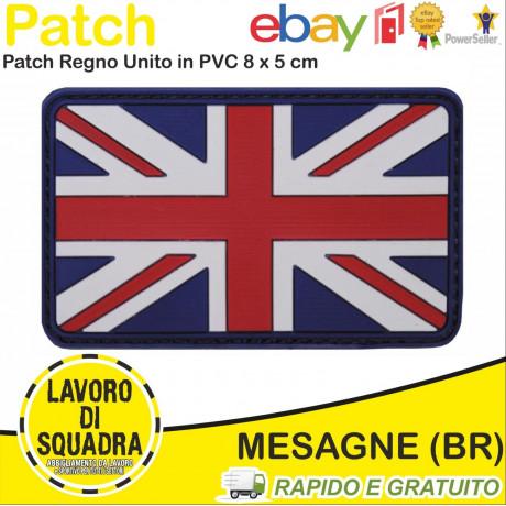 Patch Toppa PVC Bandiera...