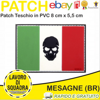 Patch Toppa Teschio Varie...