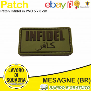 Patch Toppa PVC INFIDEL...