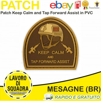 Patch Toppa PVC Keep Calm &...