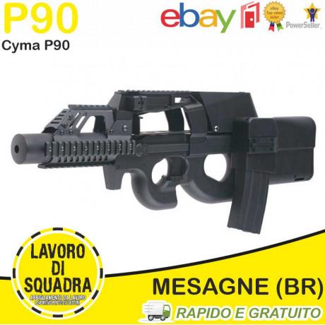 P90 RIS LAYLAX E SILENZIATORE - CYMA
