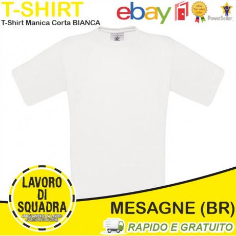 T shirt 100% Cotone Manica...