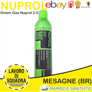 Nuprol GREEN GAS EXTREME...
