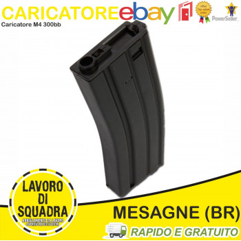 Caricatore Softair M4 300bb...