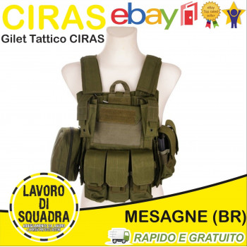 Gilet Tattico CIRAS Softair...