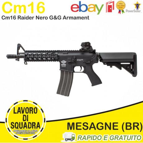 CM16 Raider Nero M4 Softair - G&G ARMAMENT