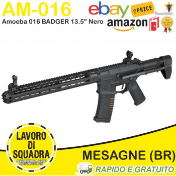 M4 AM-016 BADGER 13.5 NERO...