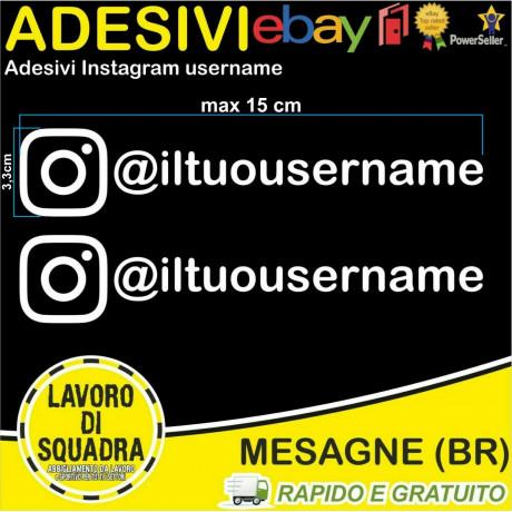 Kit 2 Adesivi Instagram...