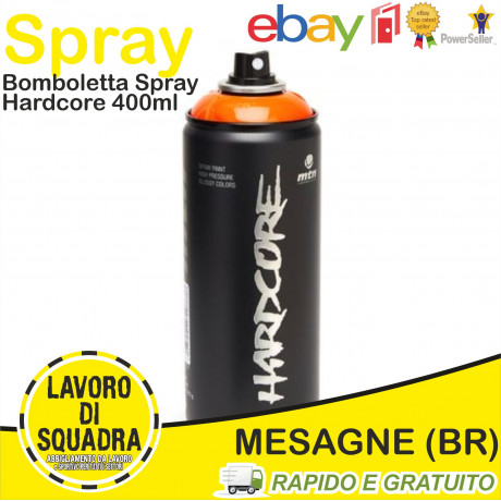 MTN MONTANA HARDCORE - SPRAY PAINT CAN - WRITING COLORE A SCELTA