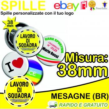1 SPILLA DA 38mm SPILLE...