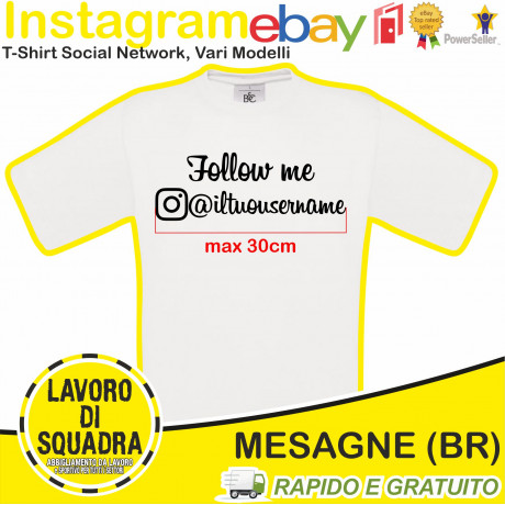 T-Shirt Instagram Scegli il...
