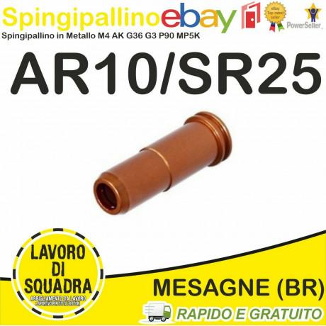 SPINGIPALLINO Ar10 SR25 IN ALLUMINIO CNC DOPPIO O-RING VERSIONE CORTA - Nuprol