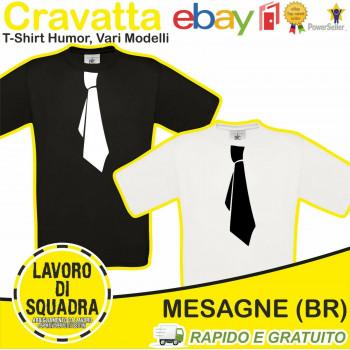 T-Shirt Cravatta Humor...