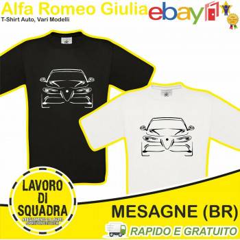T-SHIRT - ALFA ROMEO GIULIA...