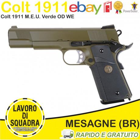Colt 1911 M.E.U. Verde OD...