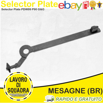 Selector Plate for PDW99...