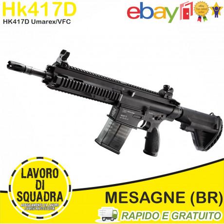 FUCILE ELETTRICO AEG HK417D V.2 MOSFET BLACK - VFC UMAREX