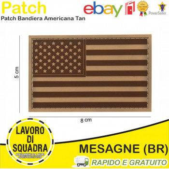 Patch in PVC U.S.A. Bassa...