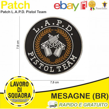 Patch in PVC L.A.P.D....