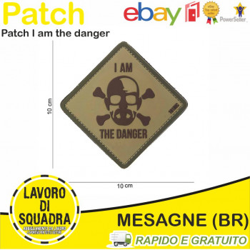 Patch I am the danger Bassa...