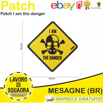 Patch I am the danger Gialla