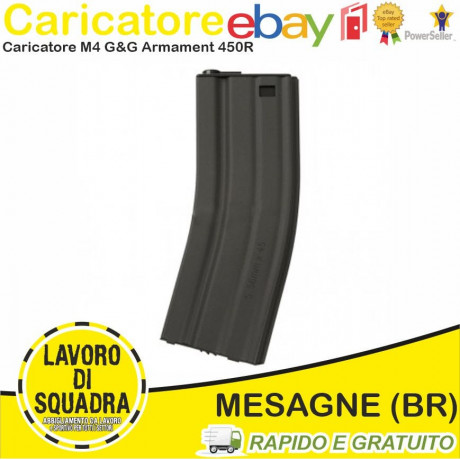 CARICATORE M4 450BB Grey...