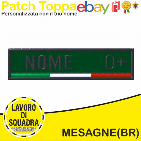 Patch Toppa Ricamata con...