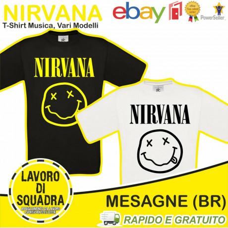 T-SHIRT - Nirvana -...