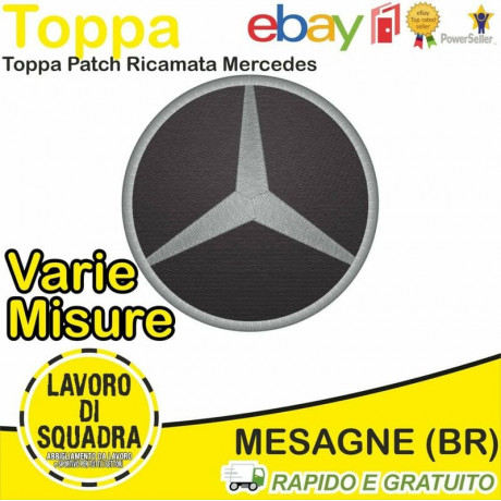 Patch Toppa Mercedes Classe...