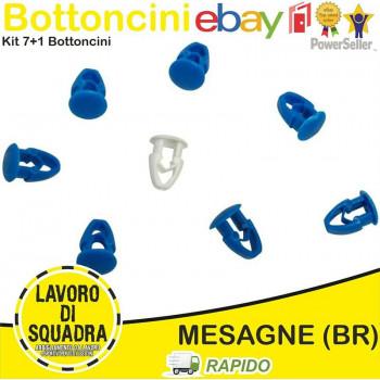 Kit 8 Bottoni fix Fissaggio...