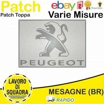 Patch Toppa Peugeot Auto...