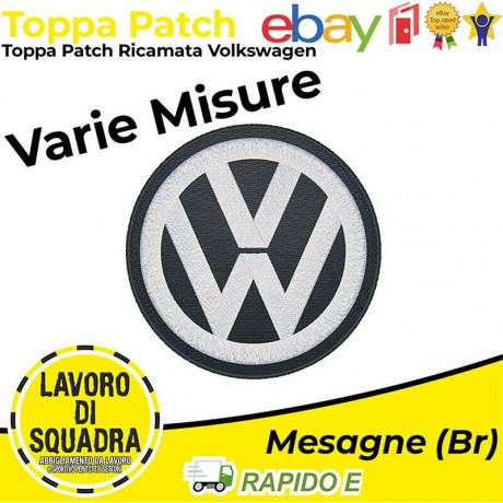 Patch Toppa Volkswagen -...