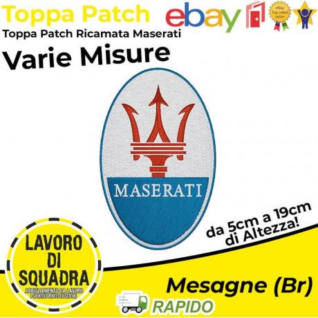 Patch Toppa Maserati Ghibli...