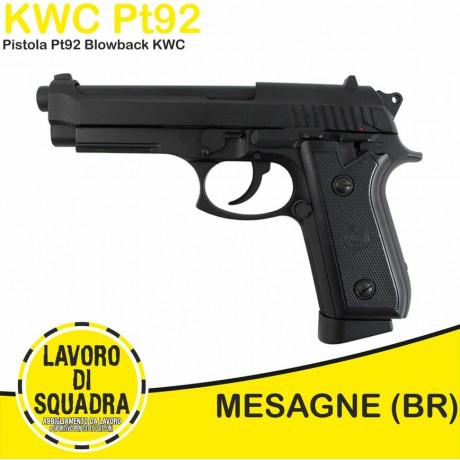 Pistola Replica PT92 FULL...